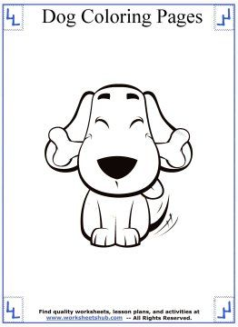 happy dog with bone coloring page  coloring pages dog