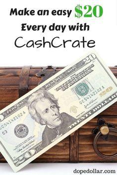 Cashcrate Reviews Is Cash Crate Legit Make 20 Per Day