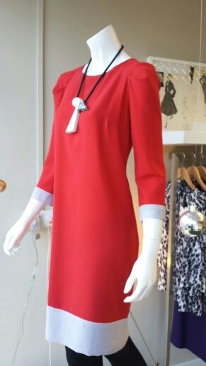 Getting set for Christmas in my new hand made Connie shift...in store now and a snip at £96!