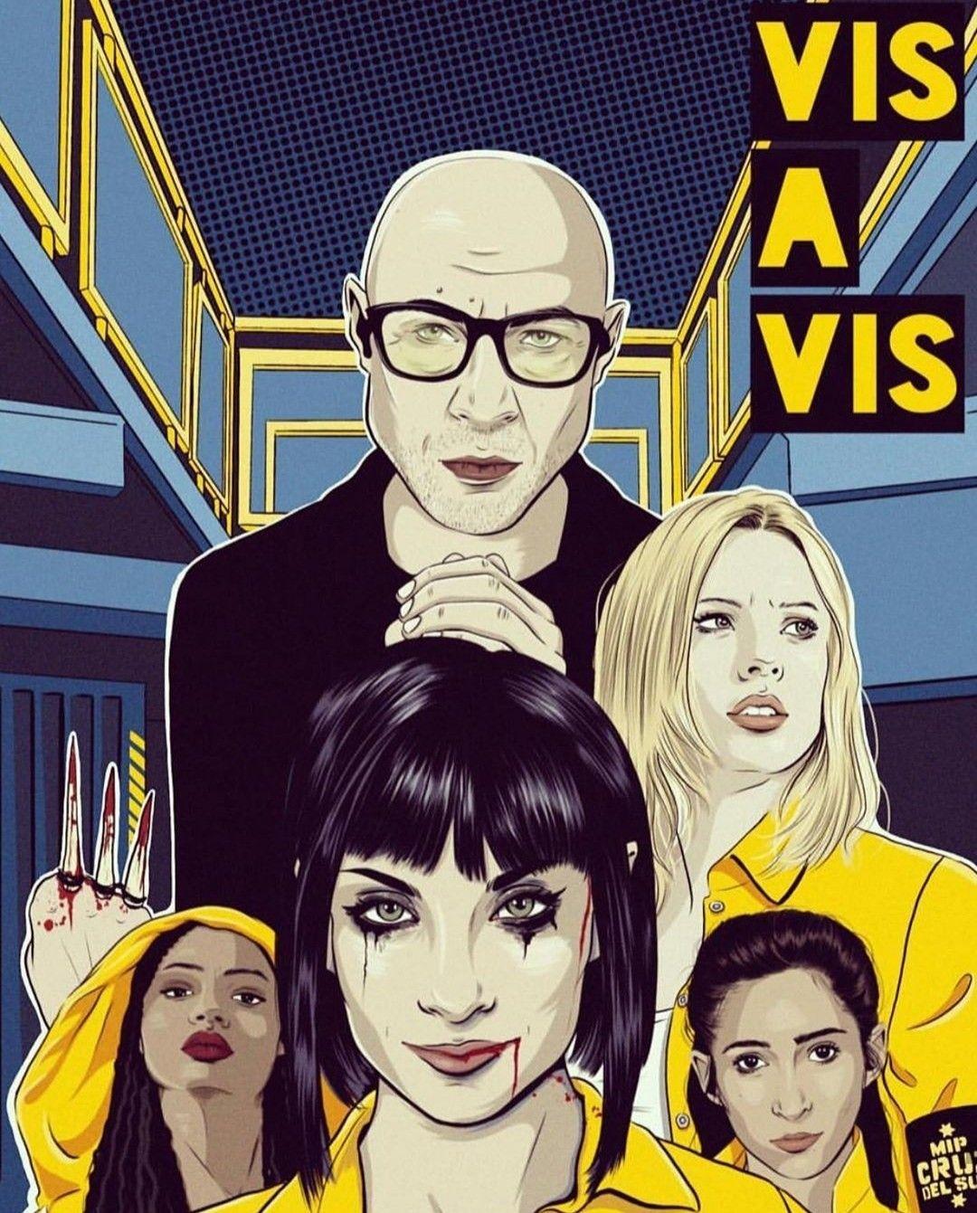 Vis Avis 4 Temporada Series De Netflix Fotos Lindos Dibujos Tumblr