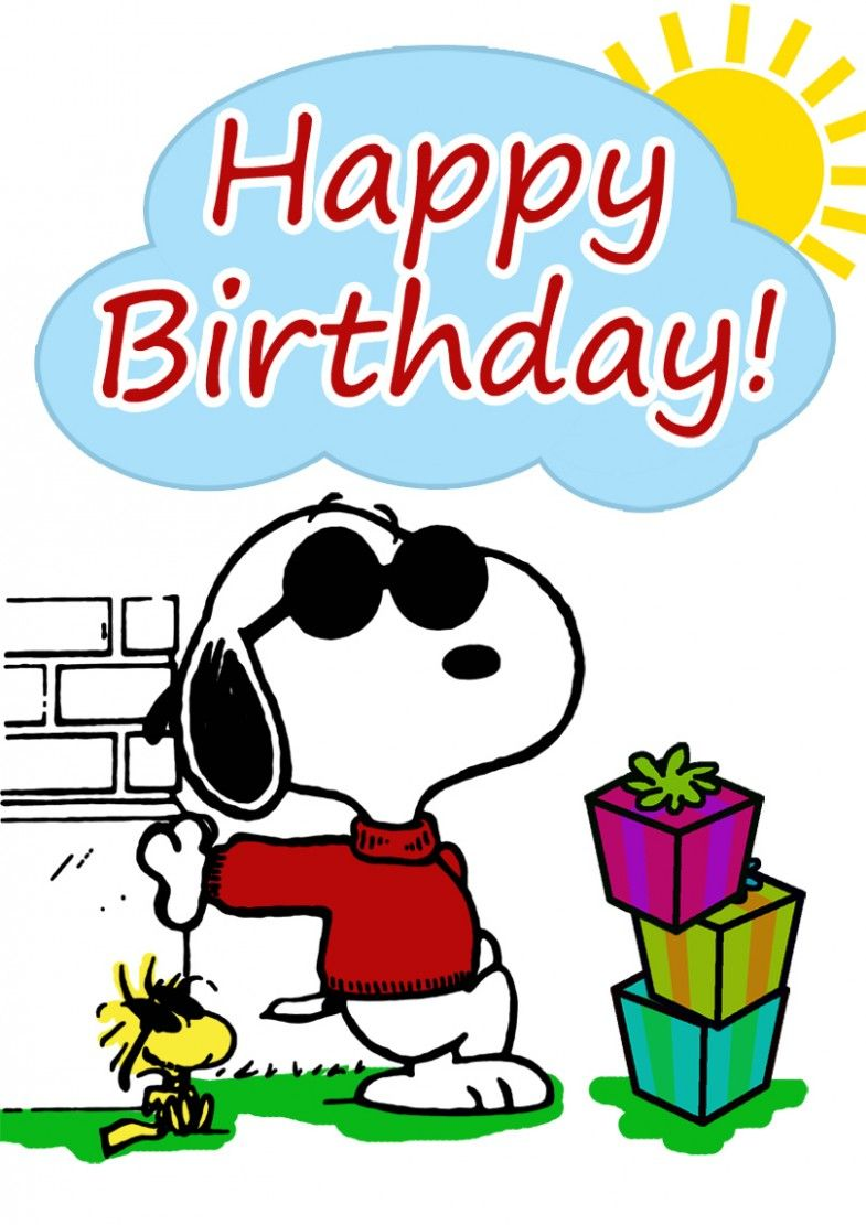 11 Awesome Birthday Cards Printable In 2021 Snoopy Birthday Snoopy Images Peanuts Birthday