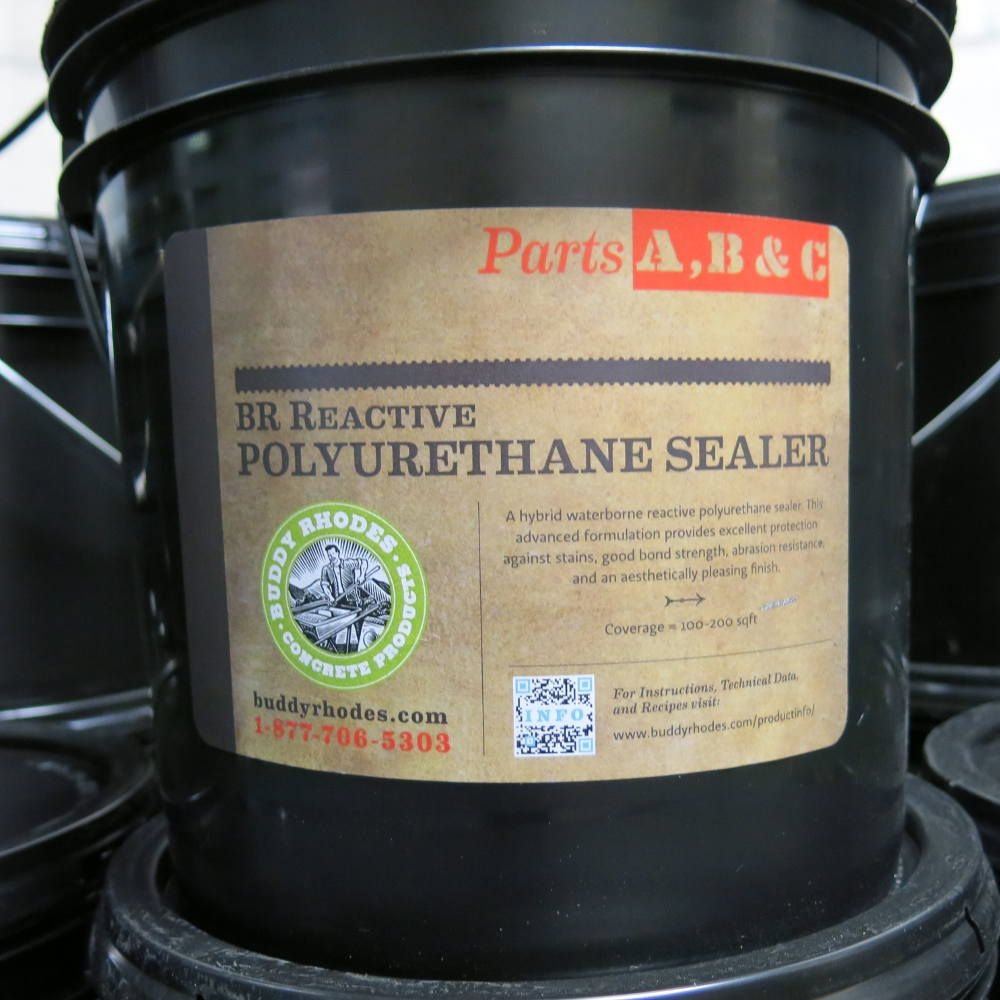 Buddy Rhodes Reactive Polyurethane Sealer Rps Is A Hybrid Sealer Combining The Benefits Of Both R Concrete Countertop Sealer Concrete Countertops Countertops