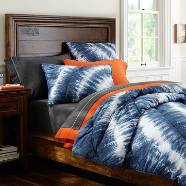 Product Images | PBteen | Cool stuff | Tie dye bedding ...