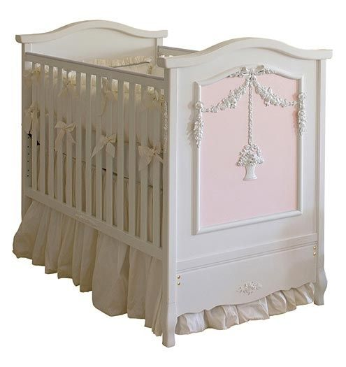 French Panel Crib With Applique Moulding Luxury Baby Crib Baby