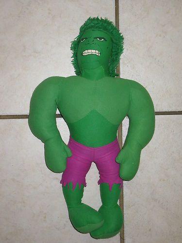 Incredible Hulk - only thing wanted from Santa - at age 6