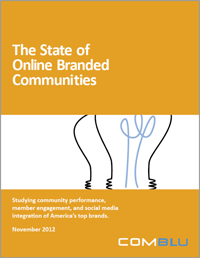"""The State of Online Branded Communities 2012"" > White Paper (free download)"
