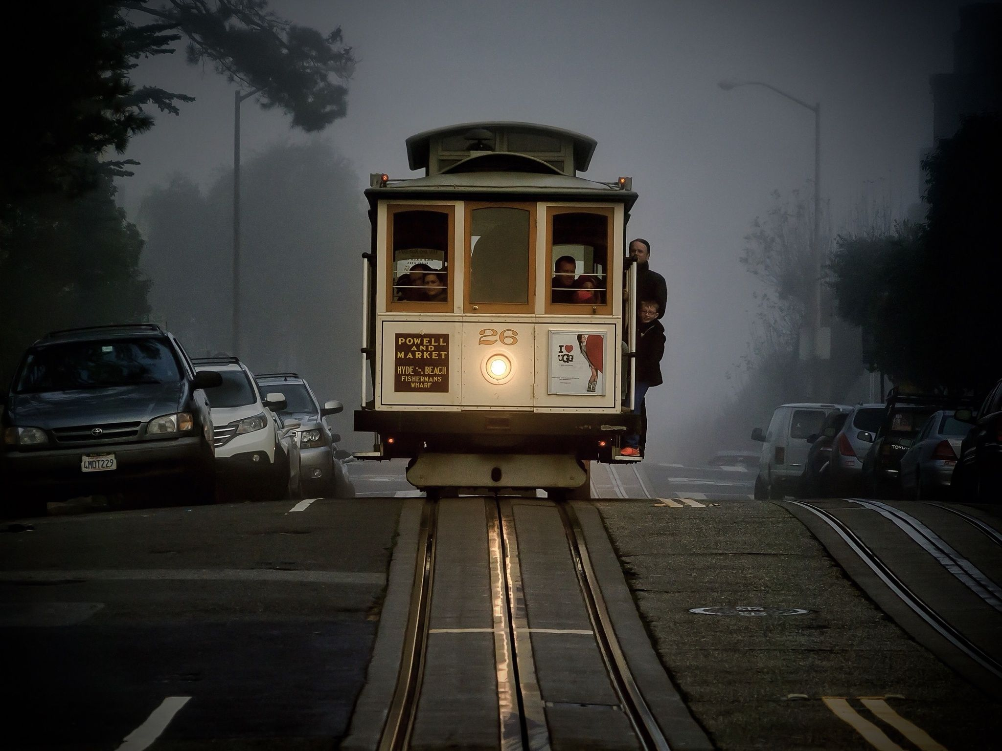SF Cable Car No. 26 by T. Malachi Dunworth  on 500px