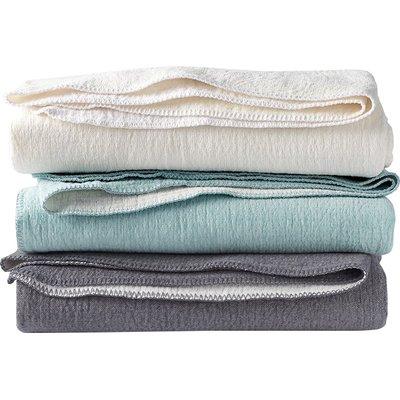 Coyuchi Cozy Cotton Baby Blanket Color Alpine White Cotton Baby Blankets Fleece Baby Blankets Baby Blanket Animals