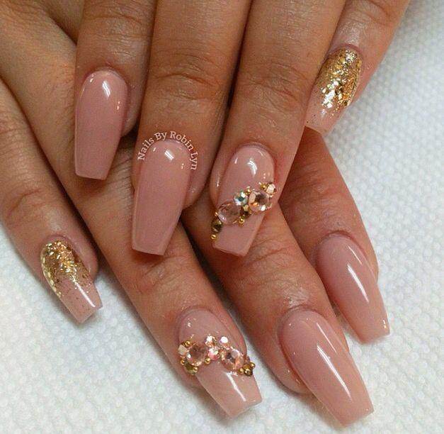 Natural nails | my food! | Pinterest | Natural nails, Coffin nails ...