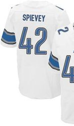 "$78.00--Amari Spievey White Elite Jersey - Nike Stitched Detroit Lions #42 Jersey,Free Shipping! Buy it now:click on the picture, than click on ""visit aliexpress.com"" In the new page."