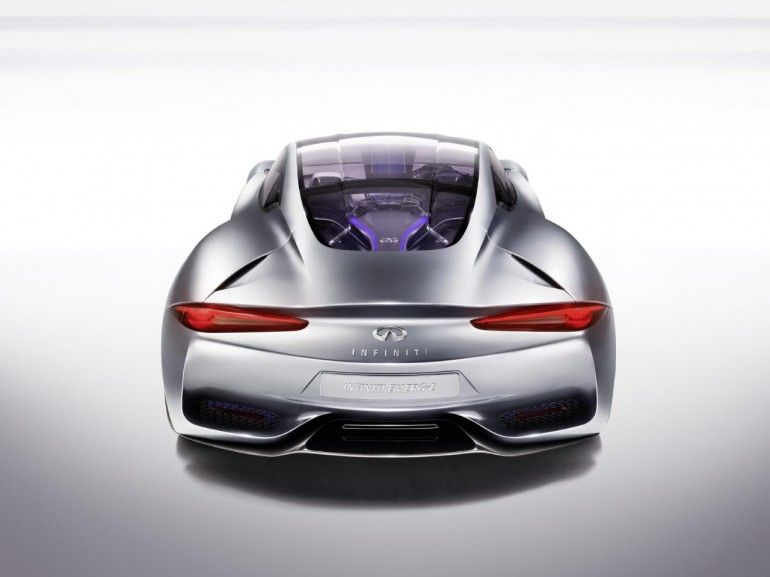 Infiniti S Emerg E Range Extended Electric Sports Car Breaks Cover