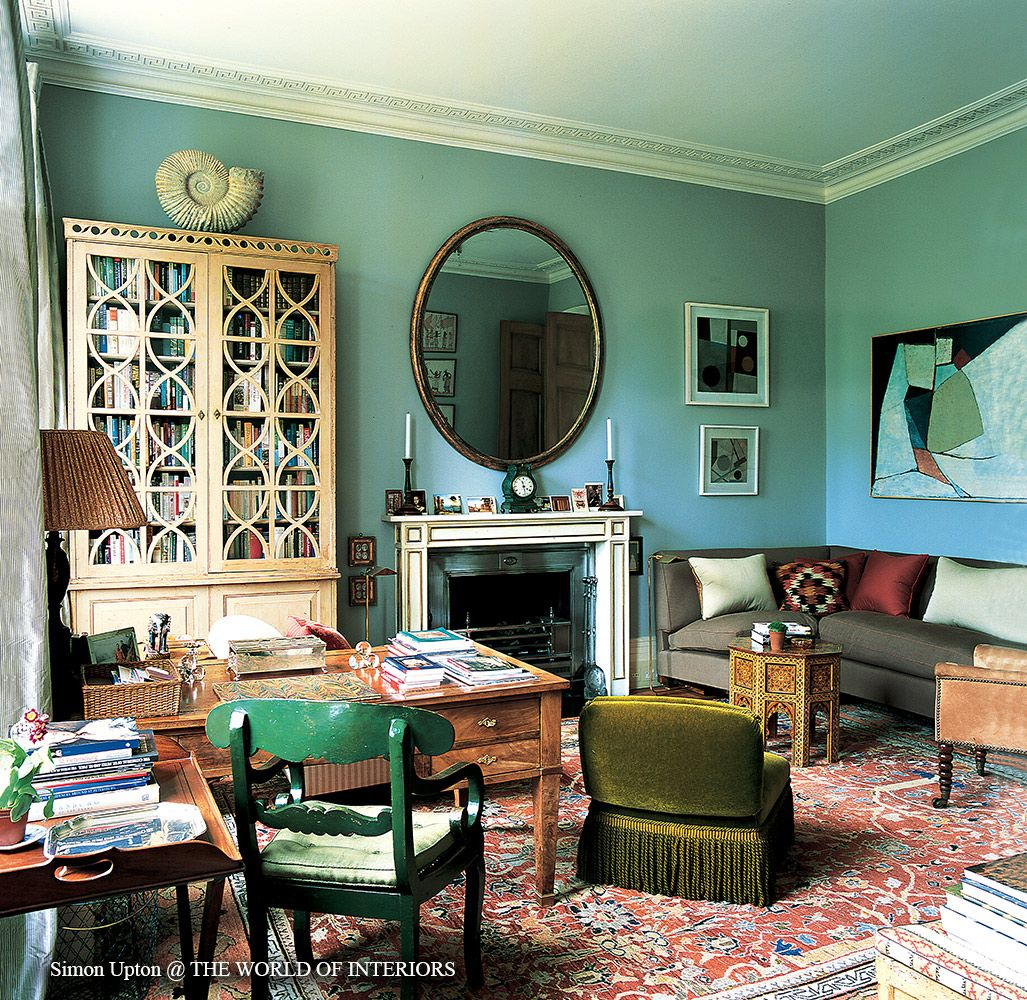 Interior design. Sibyl Colefax   John Fowler Interior Design and Decoration   ID