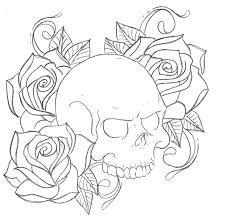 Easy Skull Tattoo Designs For Beginners Valoblogi Com