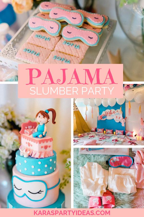 Karas Party Ideas Pajama Slumber