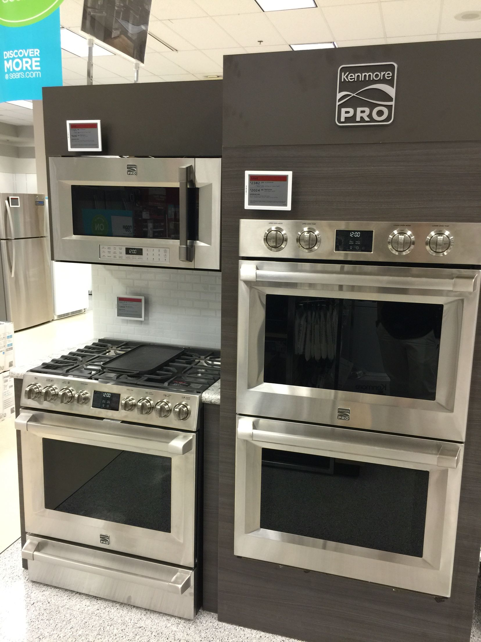 Kenmore Pro Only @Sears | Appliances @ Sears | Pinterest | Kitchens