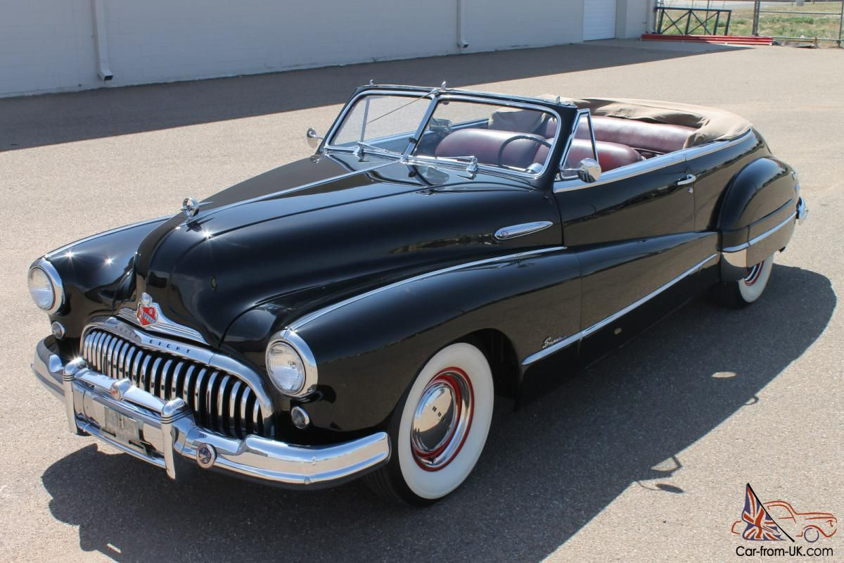 1948 Buick Convertible | 1948 Buick Super convertible for sale ...