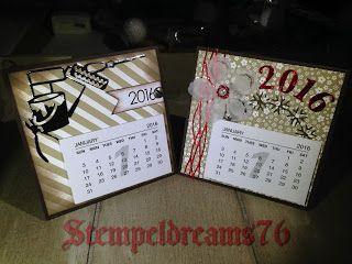 Stempeldreams76: # 110 - Tischkalender -