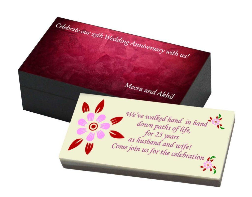 Invitation for Anniversary - Flowers (10 Box) | Anniversary ...