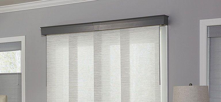 The Best Vertical Blinds Alternatives For Sliding Glass Doors Blinds Com In 2020 Sliding Glass Door Coverings Door Coverings Patio Door Coverings