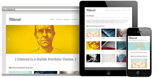 responsive wordpress theme. nice | Design | Pinterest