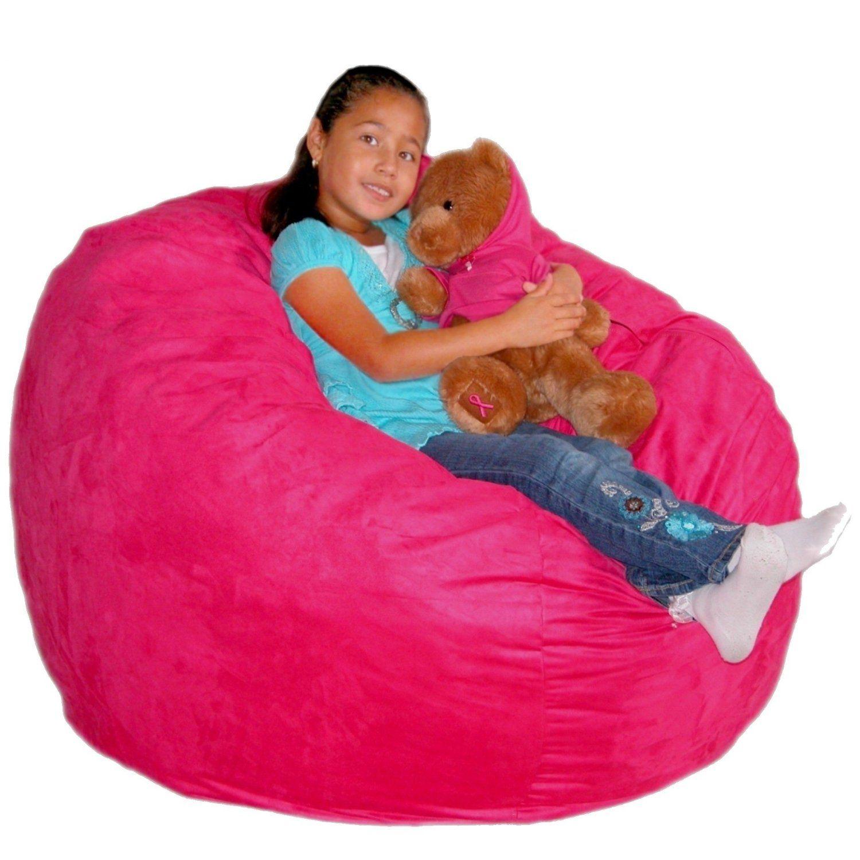Charmant [YEAR END DEAL] Cozy Sack 3 Feet Bean Bag Chair, Medium, Hot Pink   Toys U0026  Games New Year 2016 Deals List