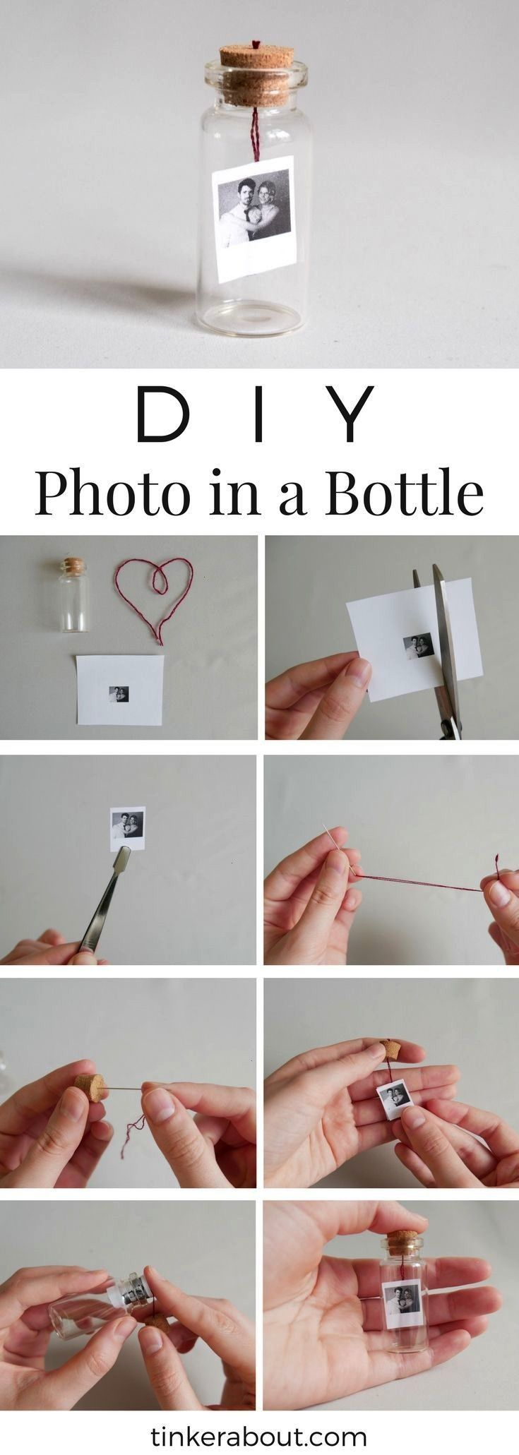 Tiny PhotoMessage in a Bottle as Valentines Day Gift Idea DIY Tiny PhotoMessage in a Bottle as Valentines Day Gift Idea DIY Tiny PhotoMessage in a Bottle as Valentines Da...