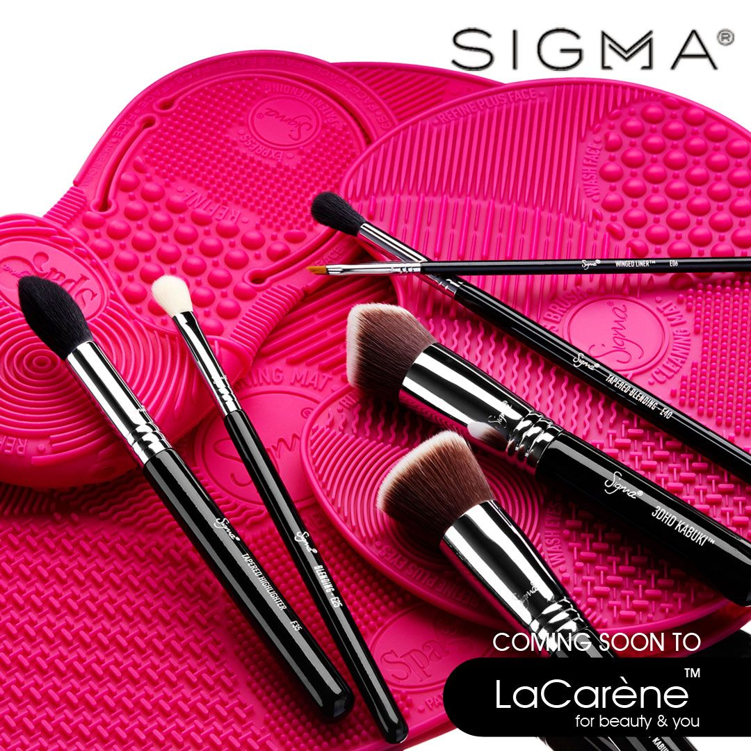Sigma Spa® Express Brush Cleaning Mat How to wash