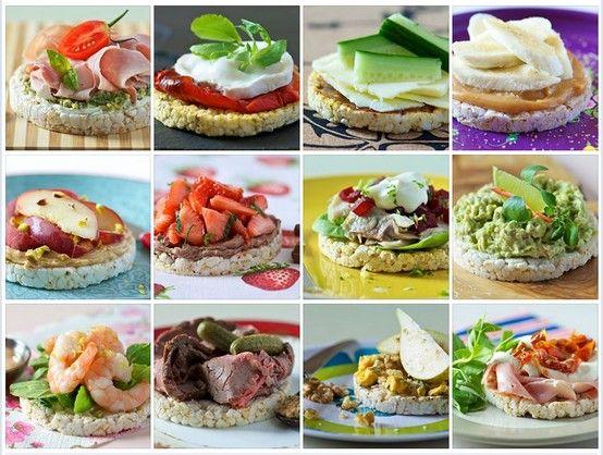 Rice Cake Ideas Healthy Breakfast Snacks Food Food And Drink