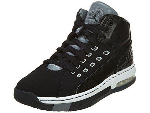 Nike Jordan Men's Jordan Ol'School Black/White/Cool Grey Basketball Shoe  10.5