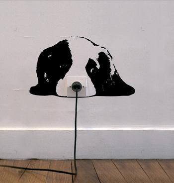 15 Cool Wall Stickers Found On Http://www.printaholic.com