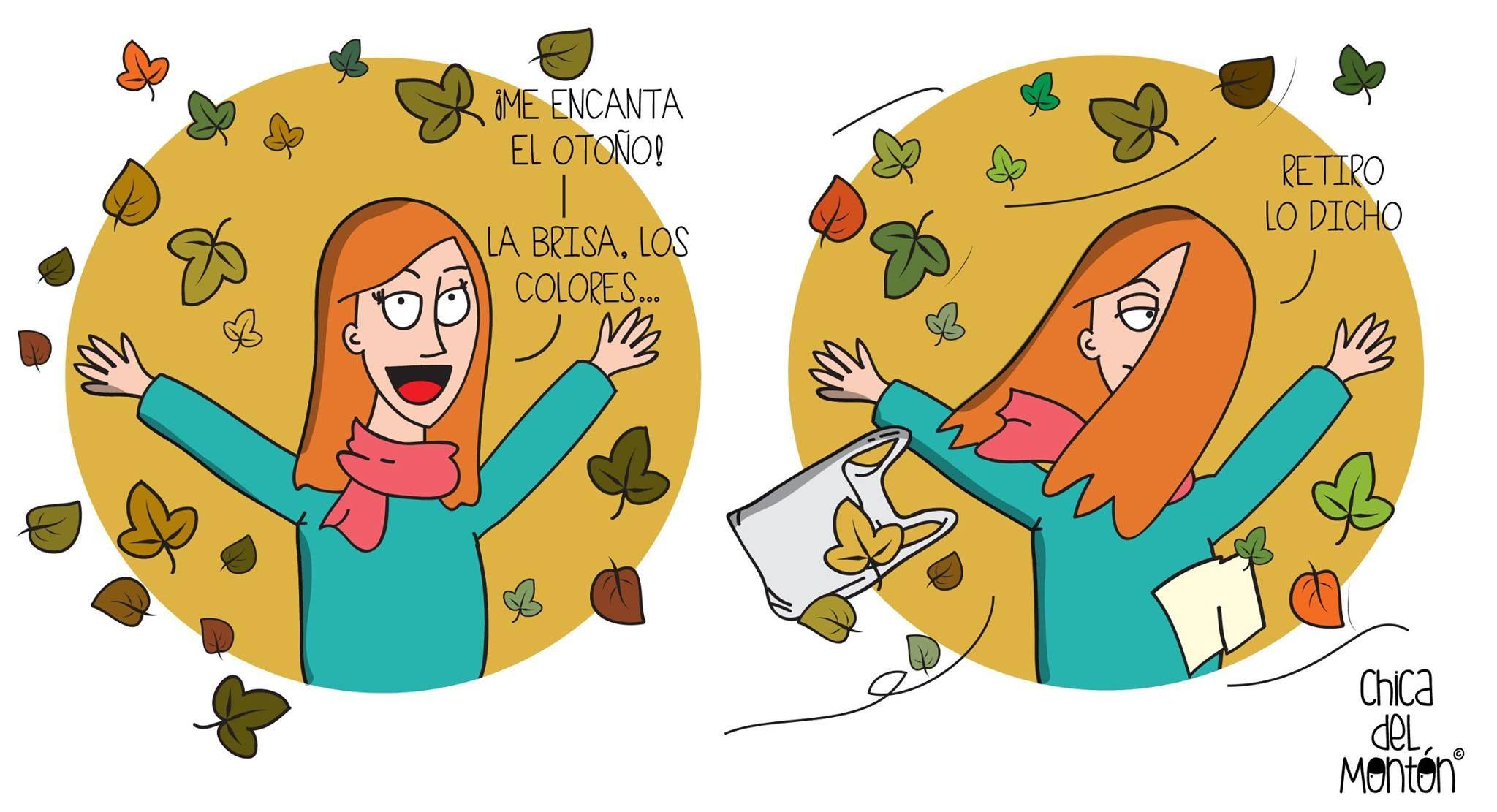 El otoño ya está aquí. ¡Y me encanta! (en ocasiones). © Todos los Derechos Reservados