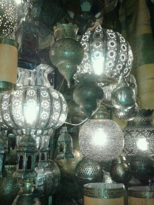 Trend Lamps in Marocco Lampen in Marokko