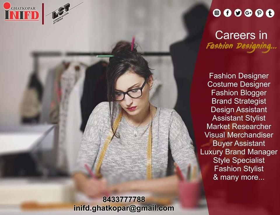 Best Fashion Designing Courses In Mumbai Fashion Design Courses In Mumbai Inifd Ghatkopar Fashion Designing Course Fashion Designing Colleges Stylist Marketing