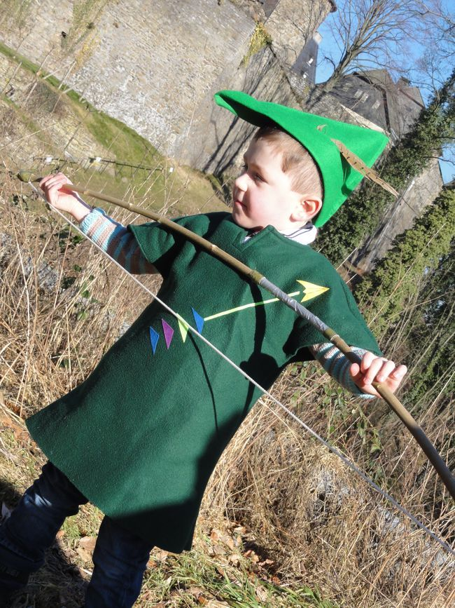 Robin Hood Costume I Made These Pinterest Robin Hoods And