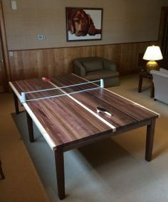 Ping Pong Table Also Dining Made In Georgia