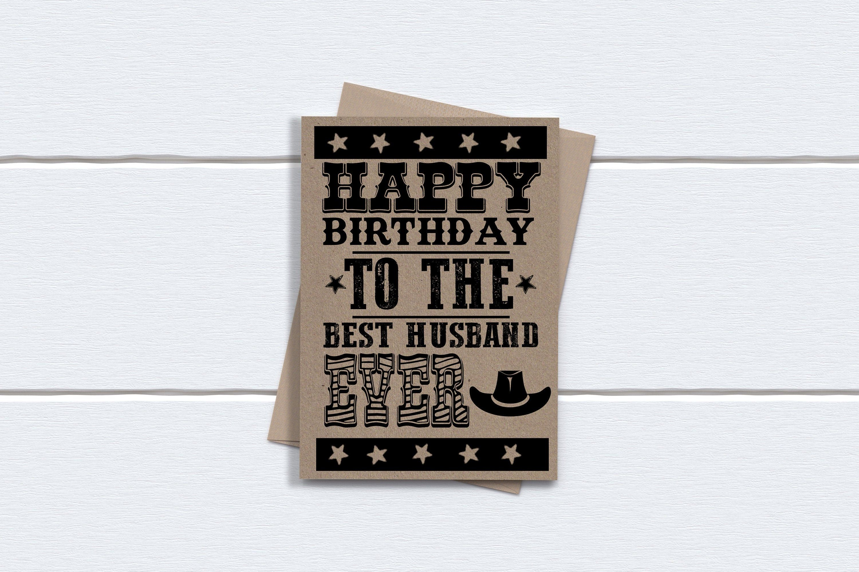 Funny birthday card husband happy birthday to the best