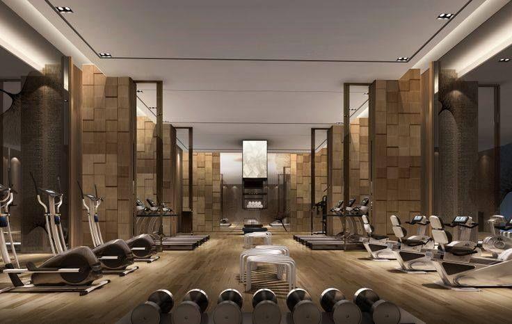 Merge design concept gym interior gym room workout rooms for Hotel club decor