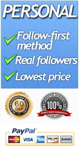 Utliize the Follow-First method on Twitter to get Twitter Followers.