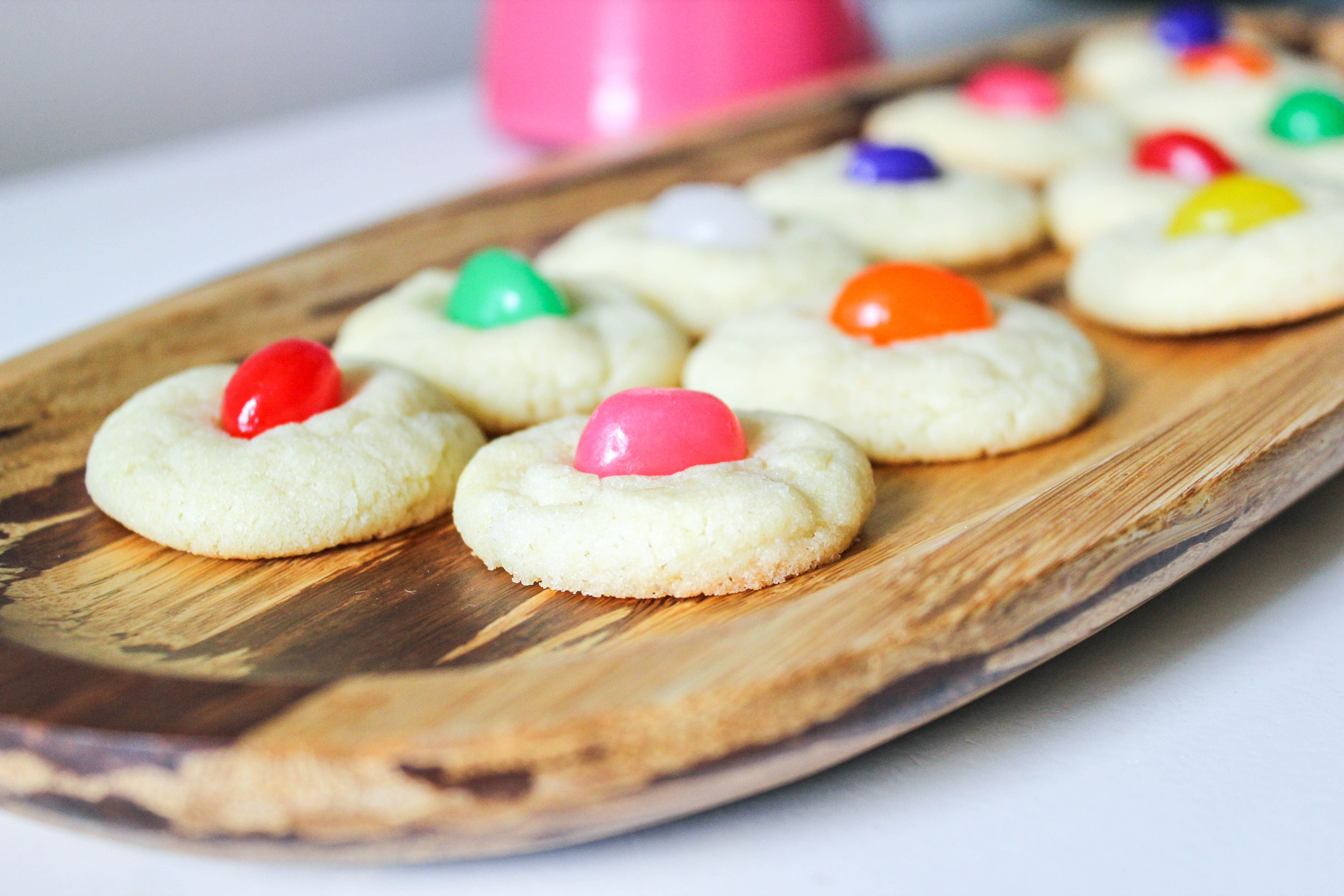 Jelly Bean Sugar Cookies for Easter