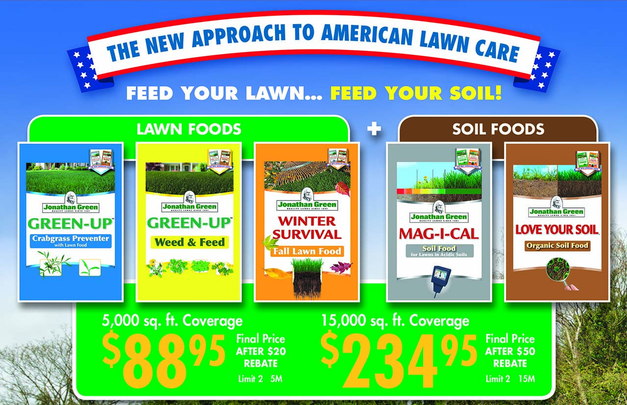 Is your lawn ready ace hardware specials lawn