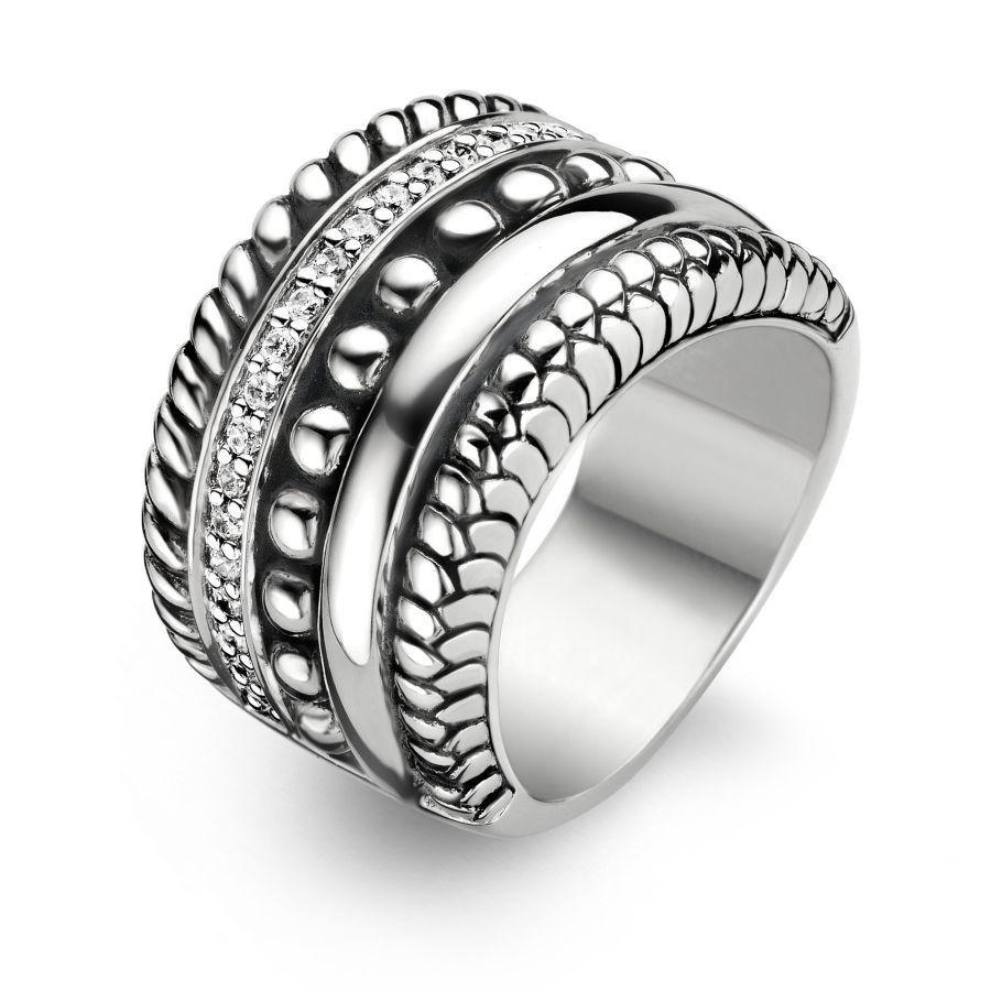 Ti Sento Ring 1835ZI - Sieraden.com