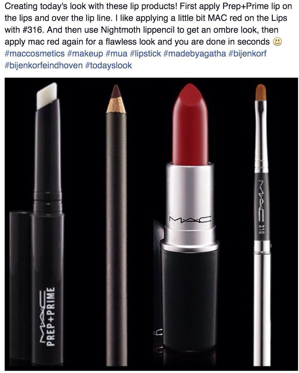 MAC cosmetics tips by Agatha