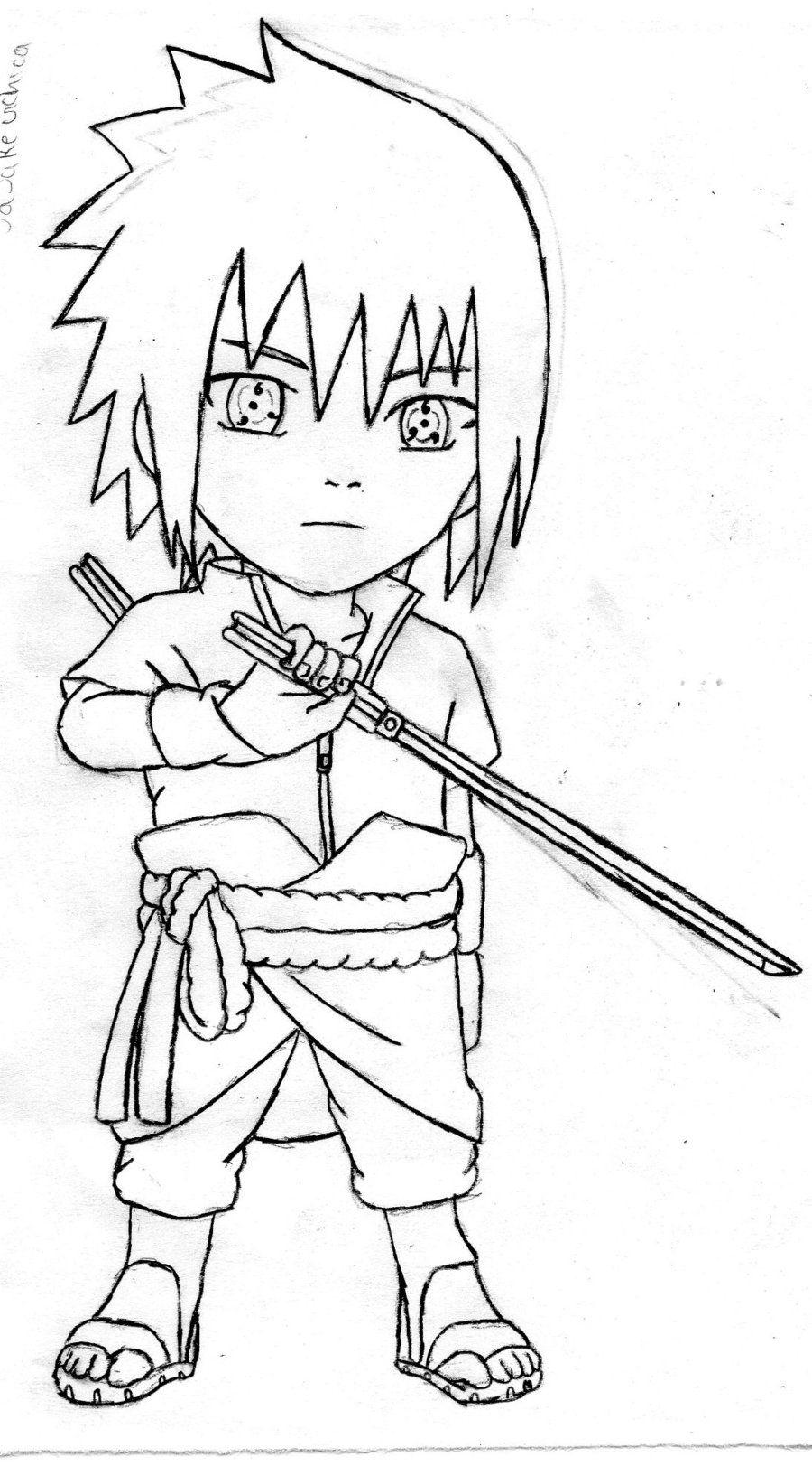 sasuke uchiha chibi by thesexychurro lineart chibi u0027s