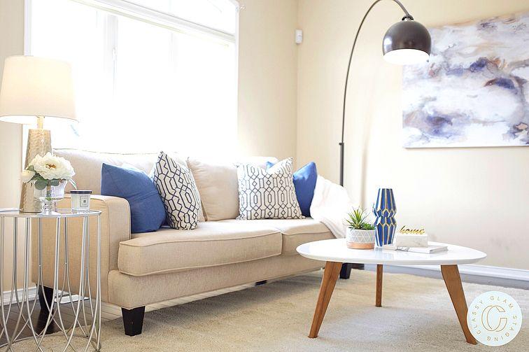 Living Room Decor Home Staging Contemporary Decor Classyglamstaging Living Room Decor Contemporary Decor Home Staging