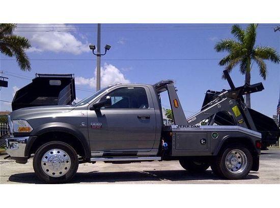 Edmonton Area Chevrolet Pickup Trucks For Sale Buy Used: 2012 Dodge 4500 SLT Wrecker Tow Truck - Photo 1