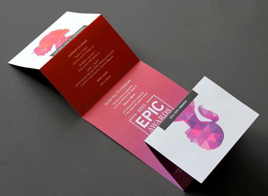 Creative Brochure Designs Exhibition Leaflets Pinterest