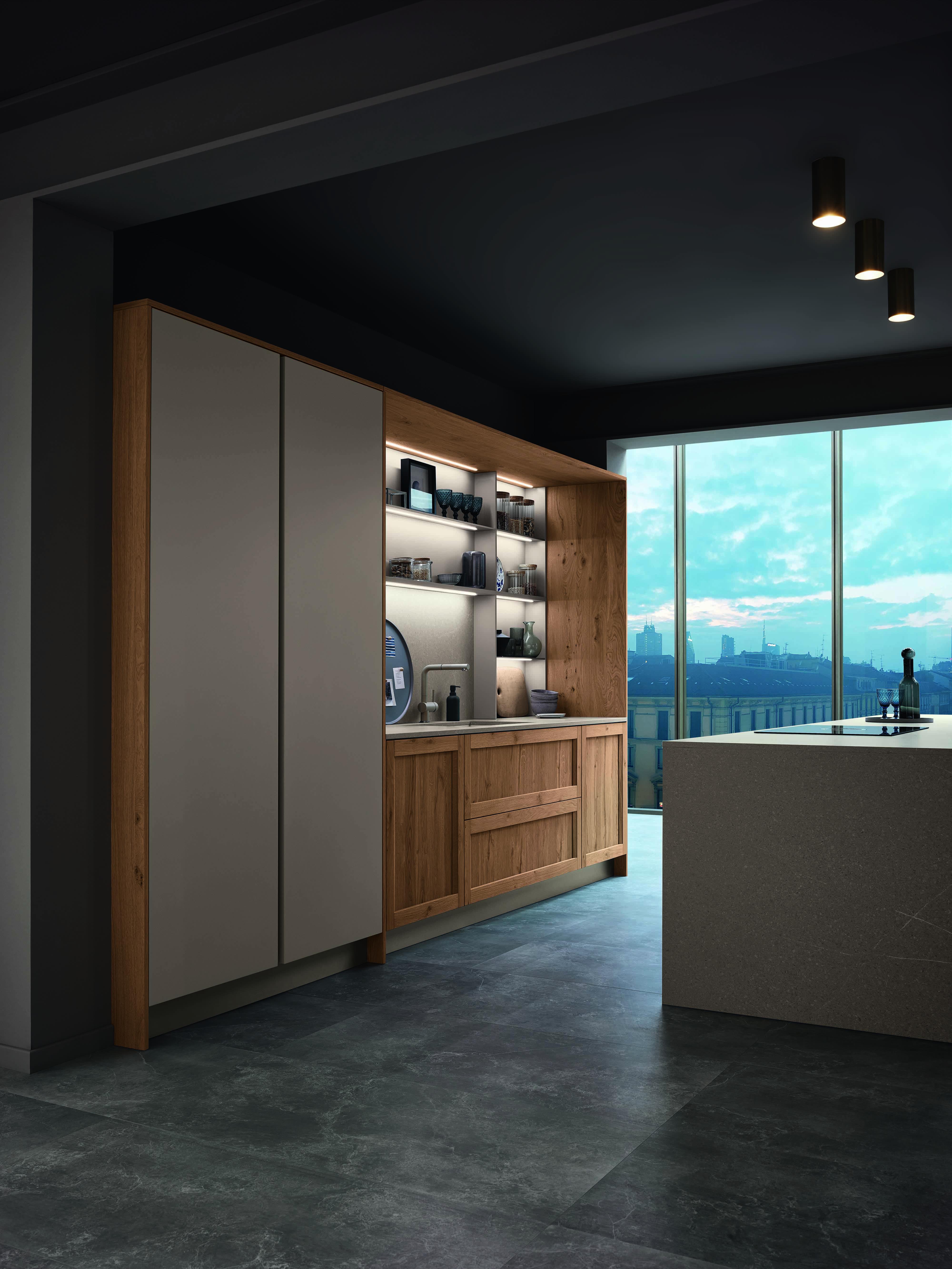 Spot Veneta Cucine.Interior Lighting Design Inspiration Given By The New Veneta