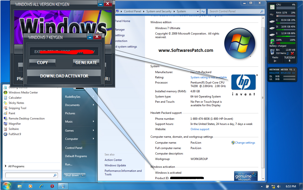 windows loader win 7 64 bit