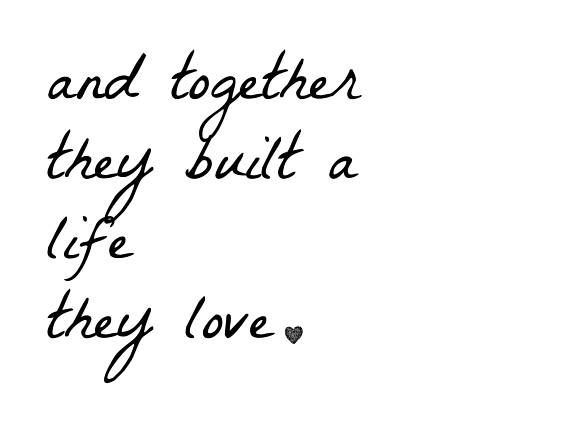 Couples Quote Handwritten Printable/SVG - Wall Decor Sign - Together they built a life they love Quote Printable Wall Art Instant Download