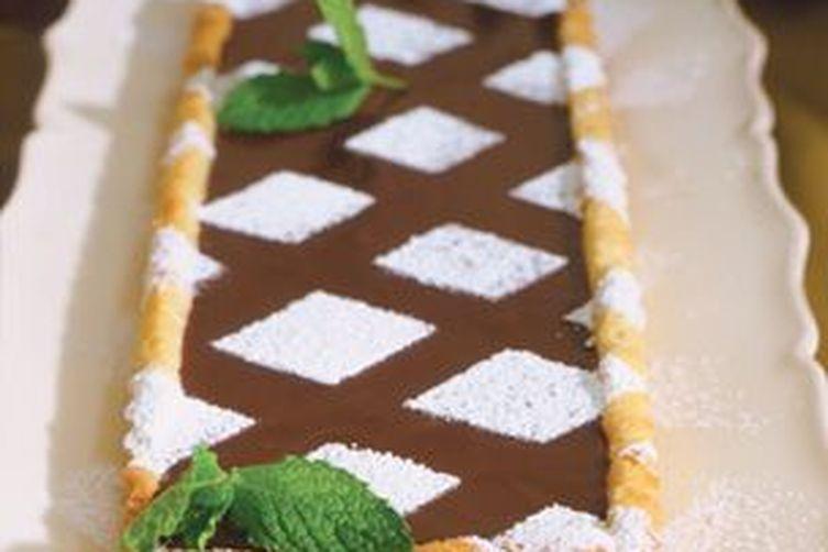 Française à la Truffe Fraîche à la Menthe Tarte au Chocolat recipe on Food52